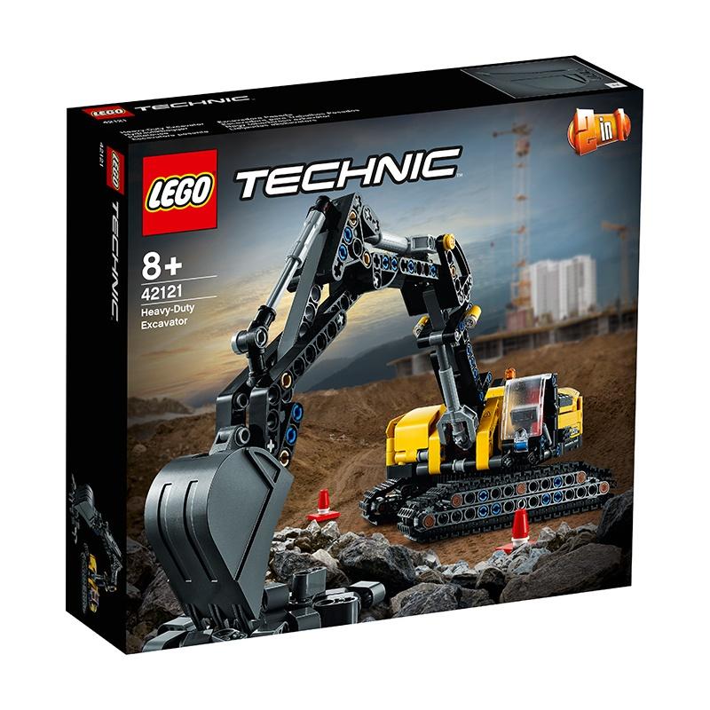 LEGO樂高科技機械組42121重型挖掘機男女孩益智拼搭積木玩具禮物