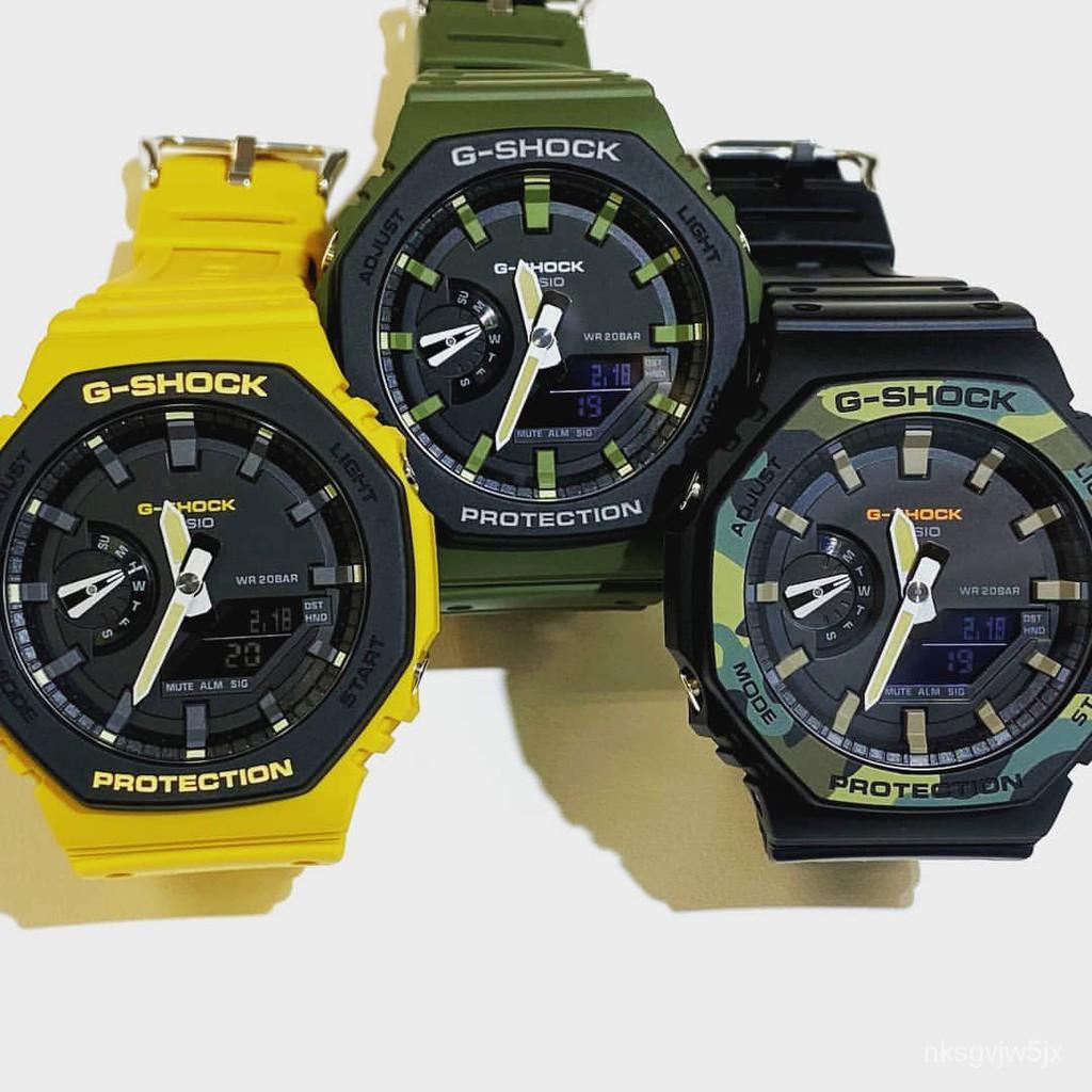 卡西歐G-SHOCK農家橡樹時尚潮流運動錶GA-2100SU GA-2110SU-3A/9A