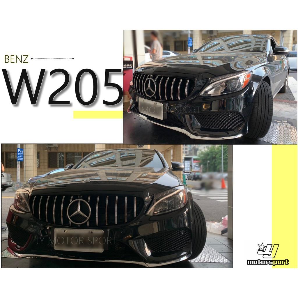 小傑車燈精品--全新 BENZ 賓士 W205 C300 C180 改 AMG樣式 前保桿 前大包 空力套件 素材