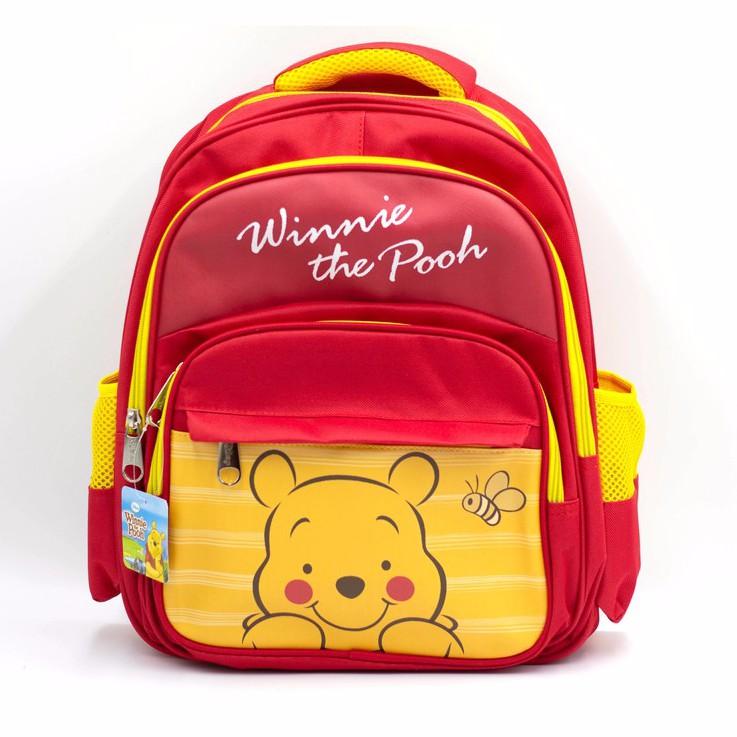 【Disney迪士尼】正版休閒兒童書包-小熊維尼
