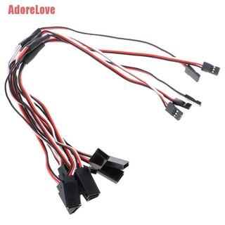 ADL 5Pcs 30cm Y型伺服RC延長引線電纜,用於JR Futaba AL