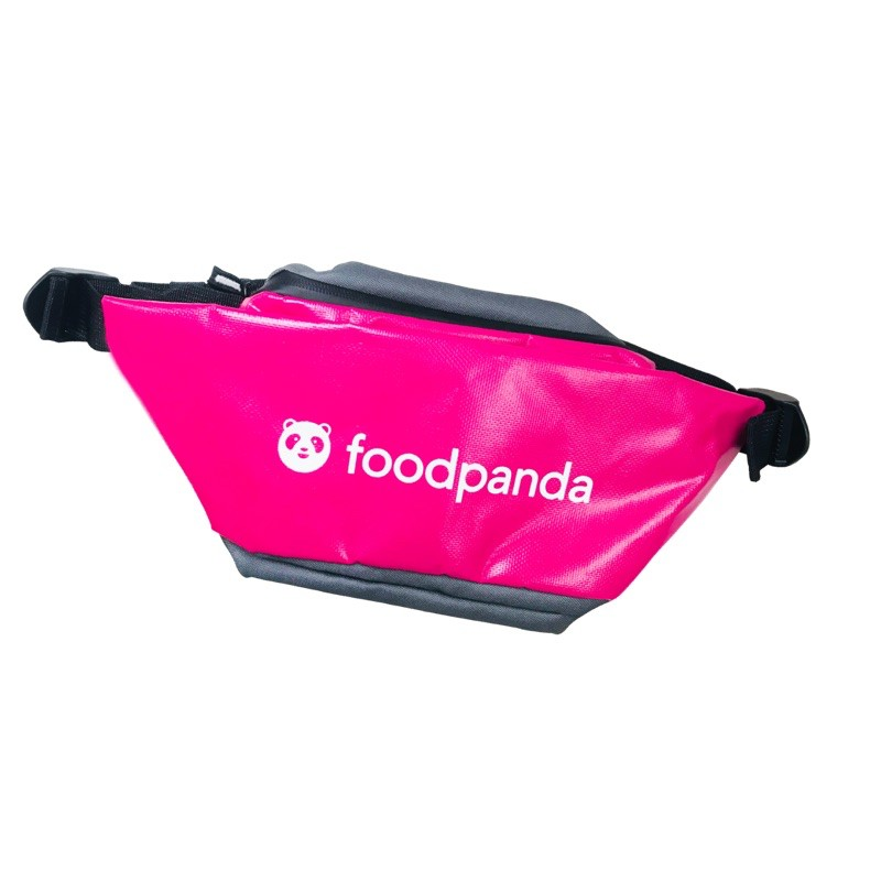 Foodpanda 原廠 腰包 熊貓 公司貨 零錢包 外送員 安全帽 大箱