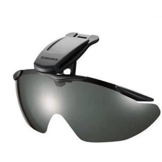 Shimano HG-002N 夾帽式太陽眼鏡 灰色S 咖啡色  偏光鏡 釣魚 磯釣 海釣 帽子專用