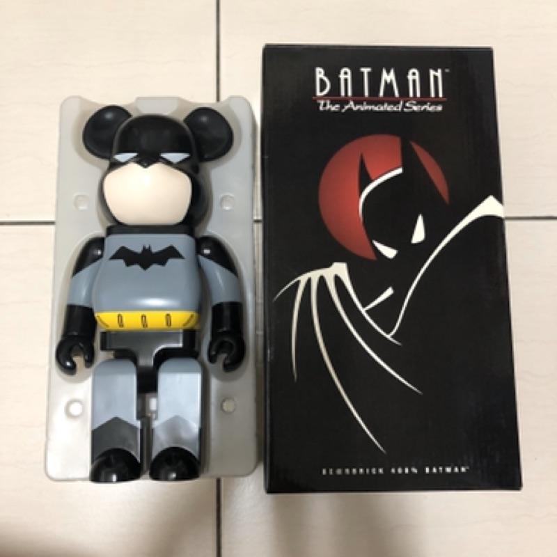全新 Be@rbrick Bearbrick Batman 400% DC 蝙蝠俠 非 1000%