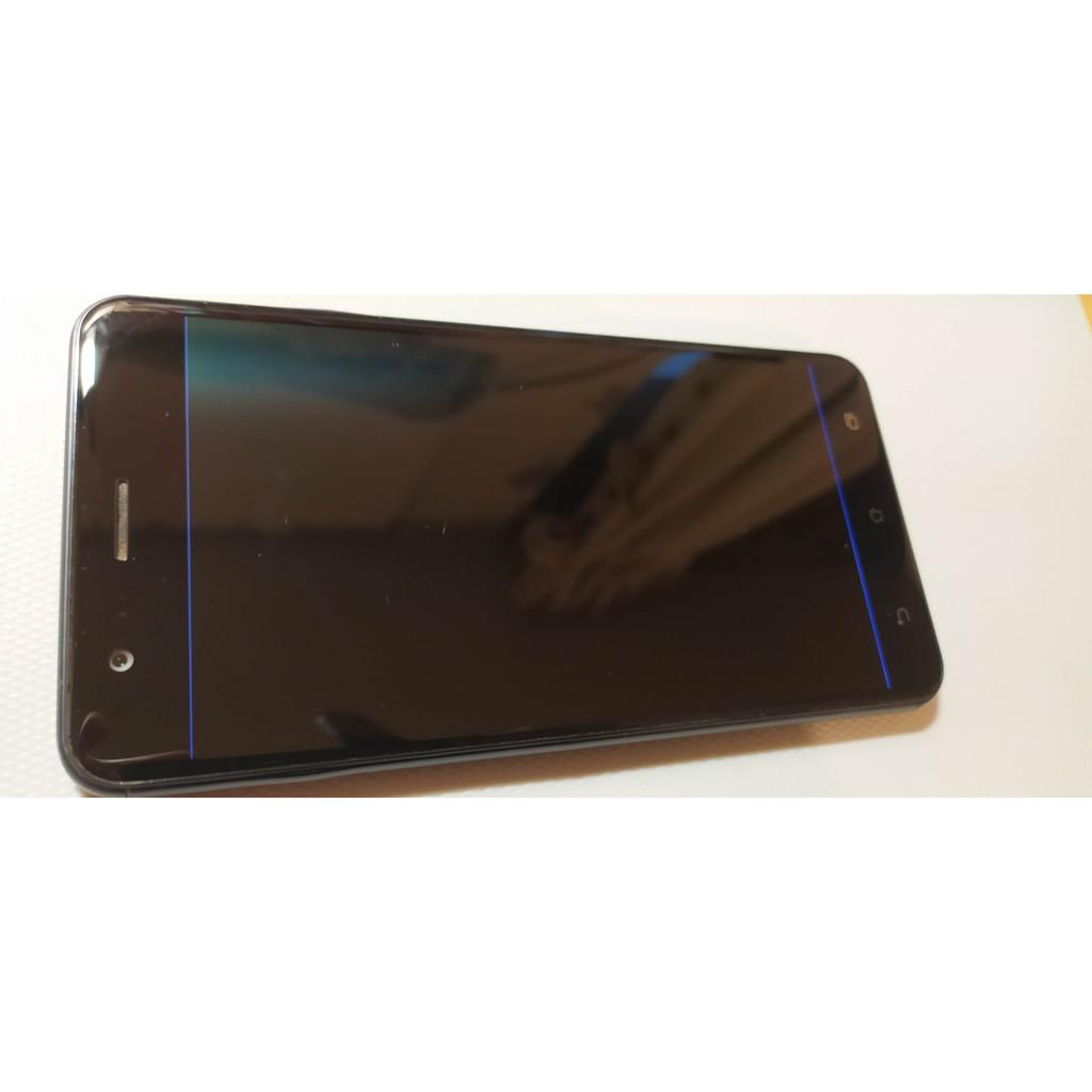 華碩 ASUS ZenFone 3 zoom ZE553KL 5.5吋 4G / 64GB 藍色 內螢幕故障可試機面交