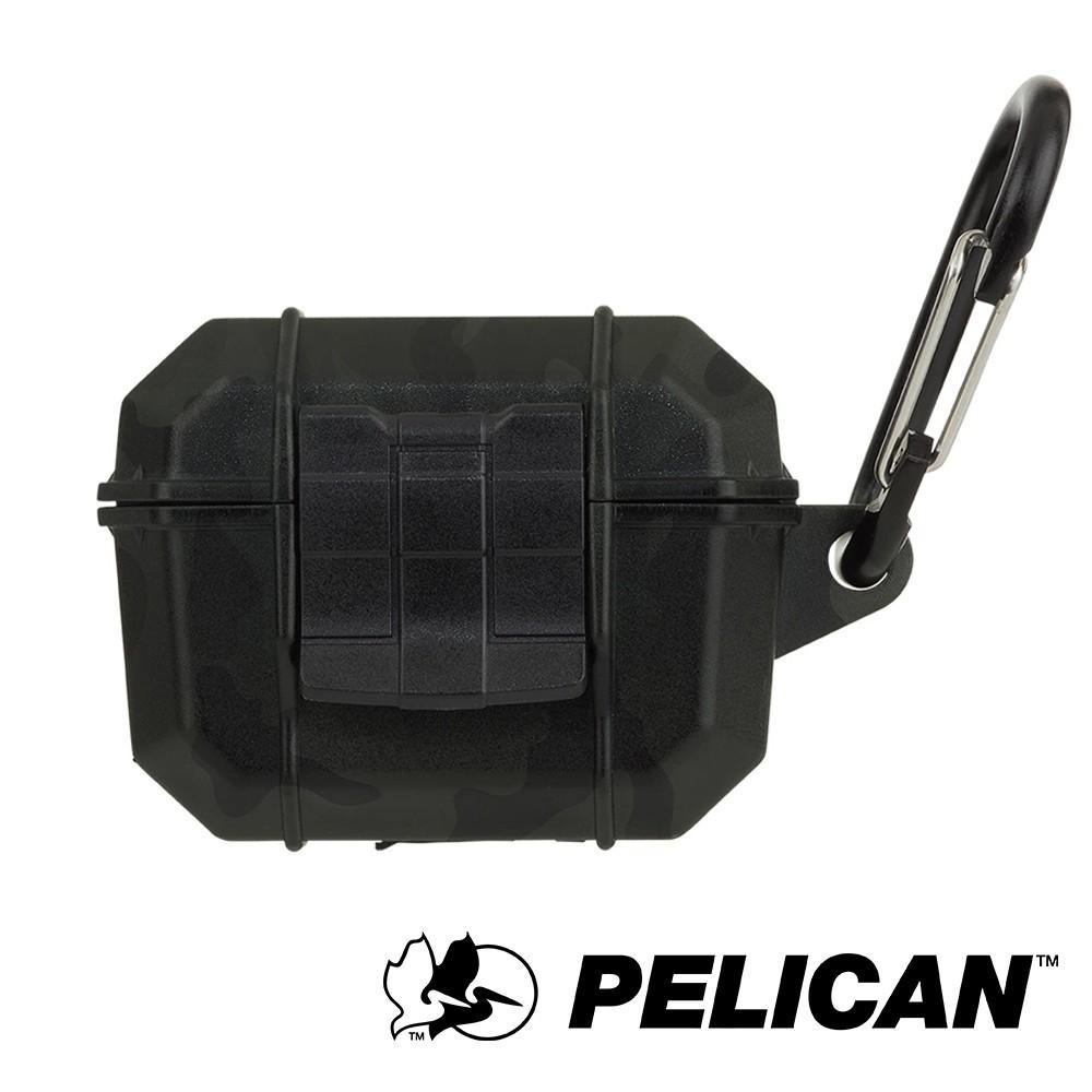 【美國Pelican】AirPods Pro Marine 陸戰隊防水防摔保護殼- 迷彩綠色