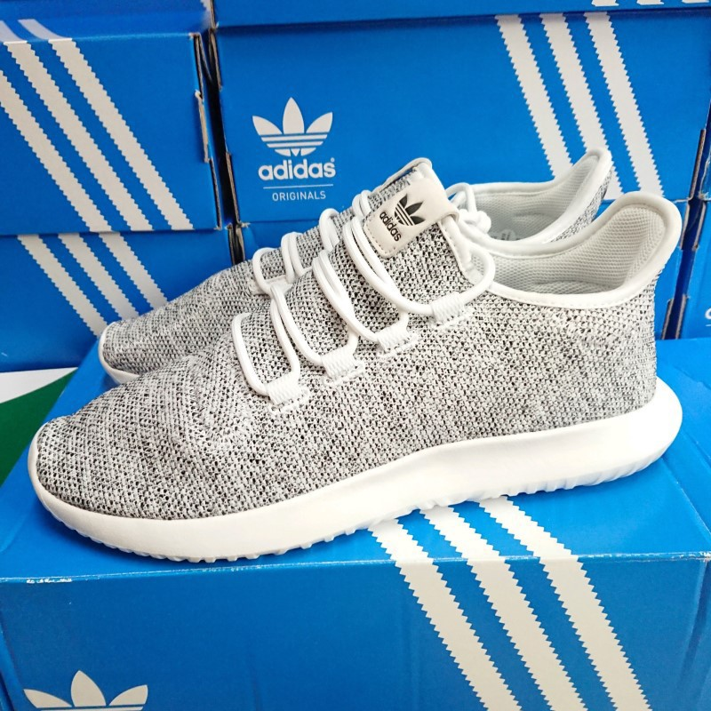 new style 614ac 6ff17 【小八】adidas Tubular Shadow White 白黑 BB8827