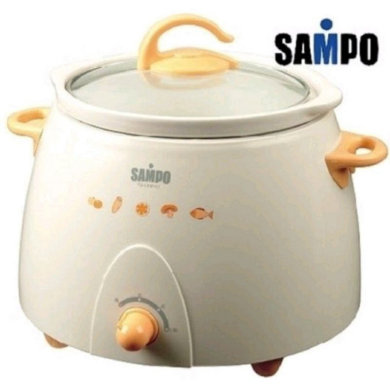 【SAMPO聲寶】聲寶陶瓷燉鍋TQ-L5301CL