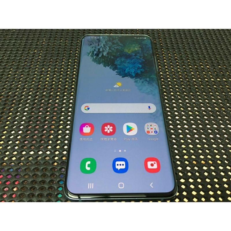 三星 Galaxy s20 二手 藍 6.2吋 5g手機 8G/128GB 臉部辨識 指紋 s21 小米 sony 蘋果