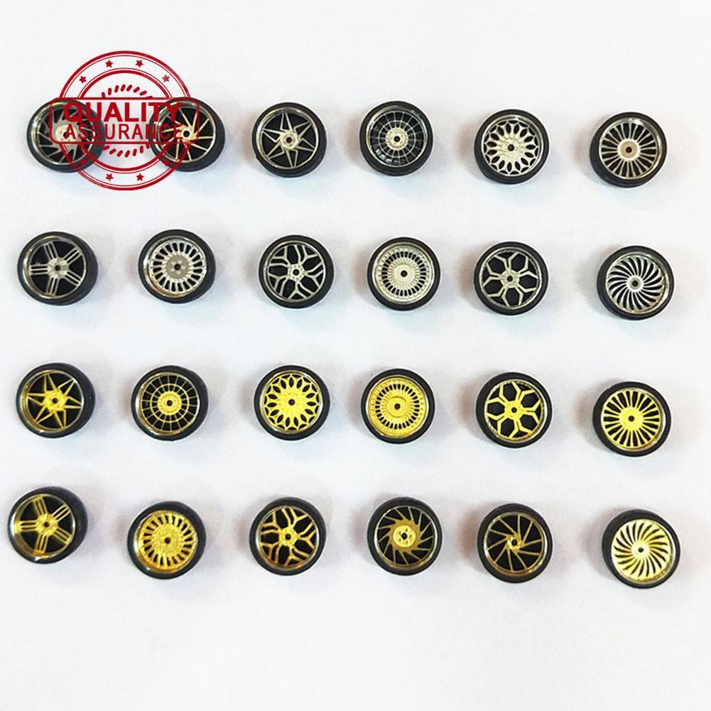 HOT WHEELS 1 / 64 比例合金輪 - 定制熱輪, 火柴箱, 切除術, 輪胎橡膠 K3A9