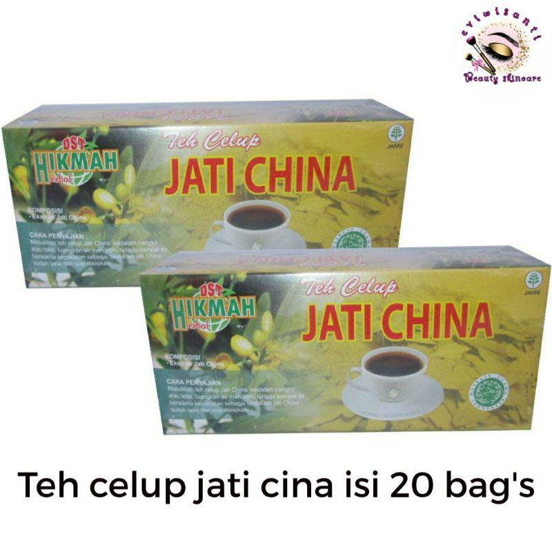 TEH JATI CINA CELUP ISI 20 BAG / TEH PELANGSING