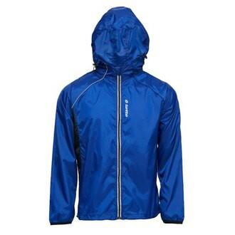 英德鞋坊~義大利第一品牌-LOTTO樂得 男/女款防潑水抗UV慢跑防風運動外套 [1106] 藍特價298元