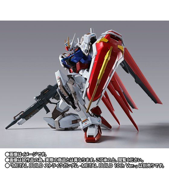 METAL BUILD MB 魂限 攻擊 鋼彈 & 翔翼背包 10週年版 10th .ver (日版)