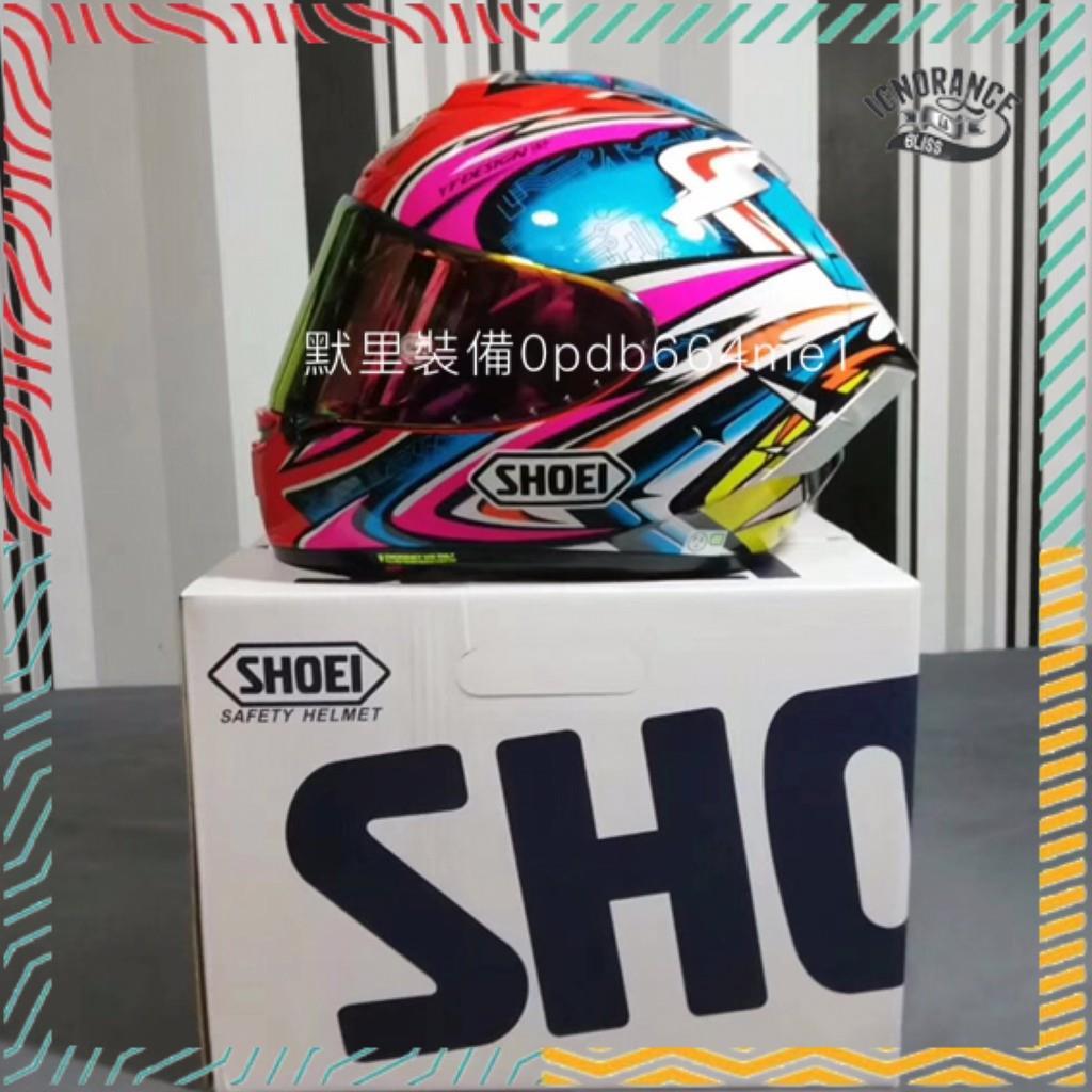 日本原裝SHOEI X14 X-14粉加藤全罩式安全帽X-FOURTEEN現貨實拍機車帽