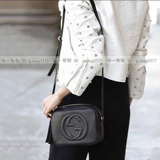 關關分享 頂級 Gucci古奇 女包 soho流蘇相機包 側背包 肩背包 斜背包 高雄市