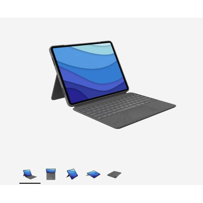 【預購】羅技Logitech COMBO TOUCH巧控鍵盤iPad Pro 12.9吋五代/11吋三代/Air四代