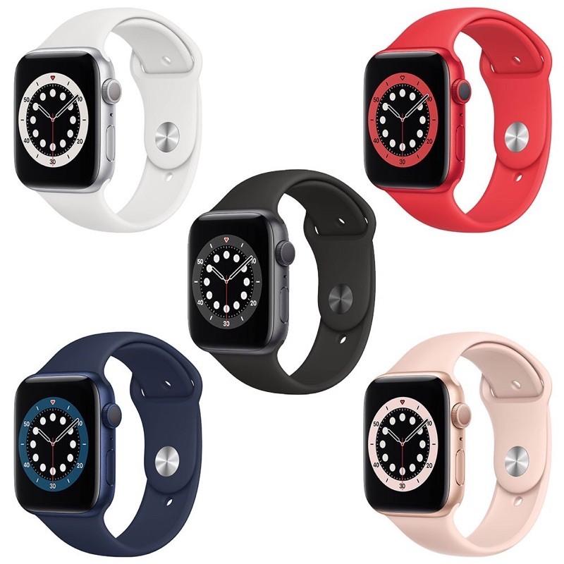 Apple Watch Series 6 GPS 40/44公釐 鋁金屬殼搭配運動型錶帶/現貨快速寄出