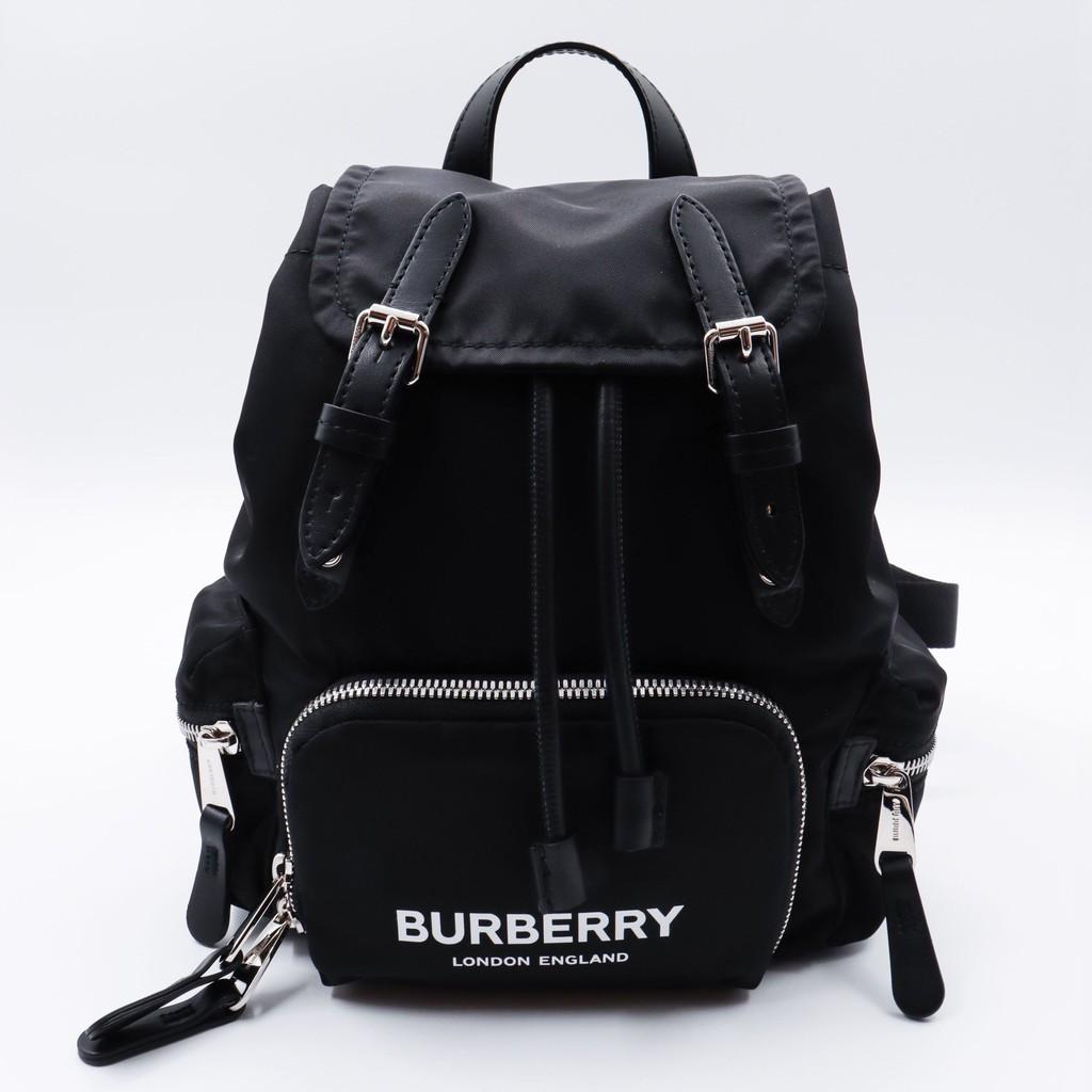 BURBERRY The Rucksack迷你後背包_logo款
