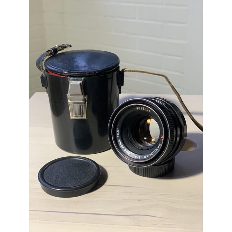 pancolar 50mm f1.8 紅mc 老鏡