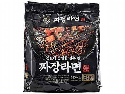 韓國 No Brand~經典炸醬拉麵(135gx5包)