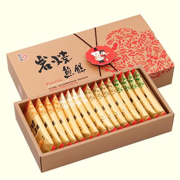 【宜蘭餅】綜合煎餅禮盒16入(盒)