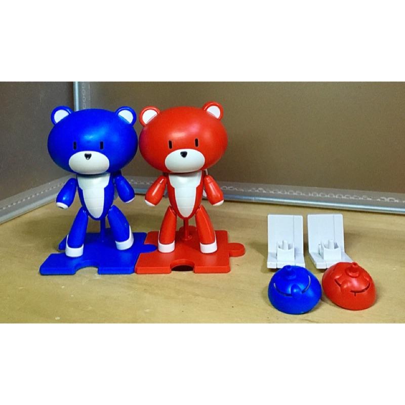 Bandai Petit Gguy 1/144 鋼彈 紅藍雙色