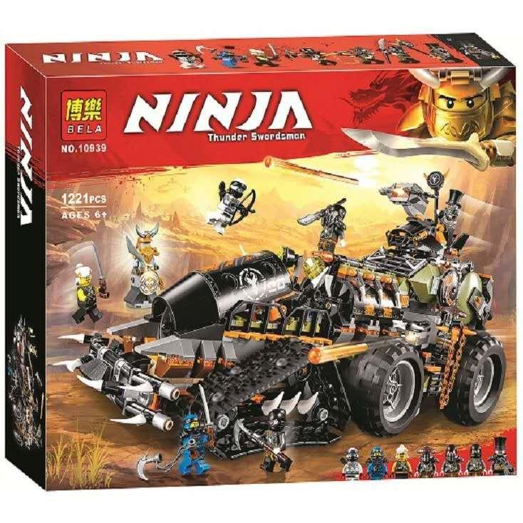 幻影忍者系列 博樂10939 忍者阿光的 捕龍戰車兼容樂高70654收藏擺件兒童益智玩具積木模型套裝禮物