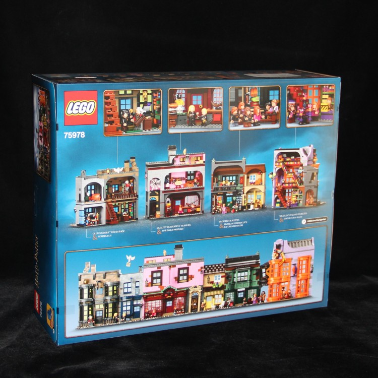 【夏拉朵朵代購】新品樂高積木拼裝哈利波特系列對角巷75978成人高難度男孩玩具