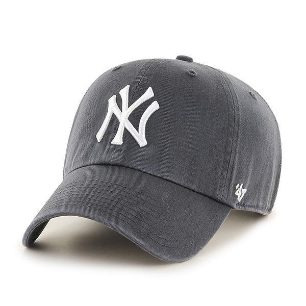 90d17c3b2bdc  H S 老帽47 Brand CLEAN UP老帽紐約洋基美國純正老帽棒球帽