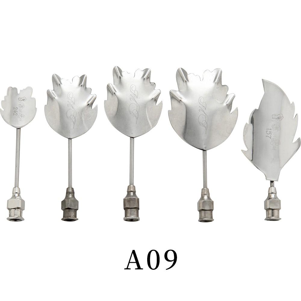 優果《越南進口不鏽鋼果凍花針A09》每組內含5支針