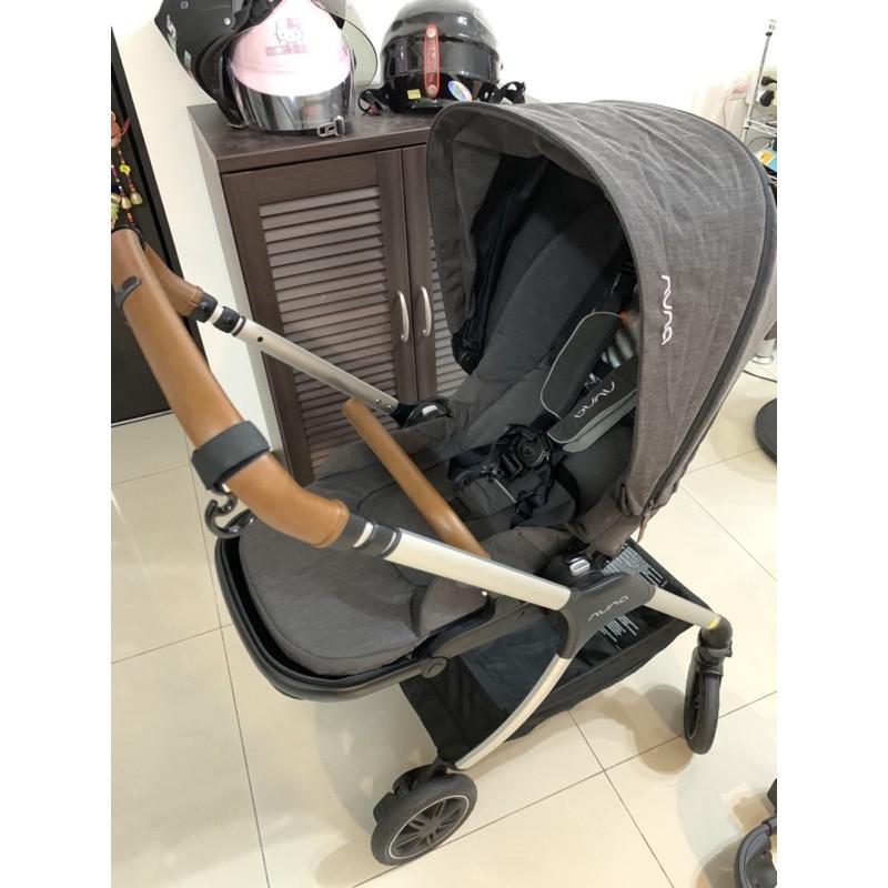 NUNA Triv嬰兒手推車+原廠雨罩
