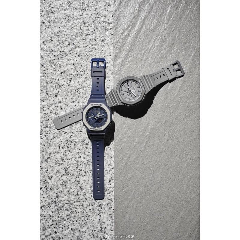 現貨 台灣公司貨 G-SHOCK GA2100 水泥灰 深藍 農家橡樹  電子錶