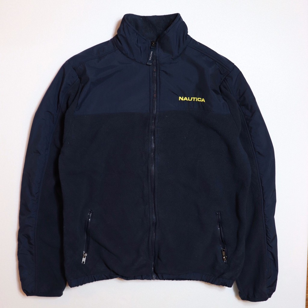 Vintage 古著 NAUTICA Fleece Jacket 抓絨外套