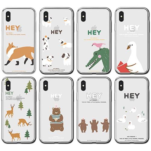 韓國 森林家族 手機殼 透明軟殼│LG G7 G8 V40 V50 V50s G8X
