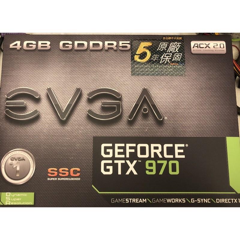 EVGA GTX970  4G 艾維克