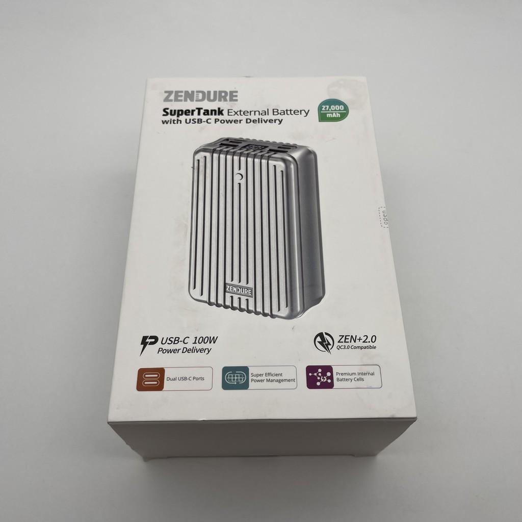 Zendure SuperTank 100W 27000mAh 快充行動電源