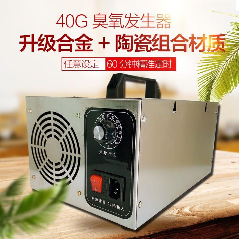 40g臭氧發生器(合金片)家用除甲醛汽車臭氧消毒機空氣殺菌臭氧機 全館免運
