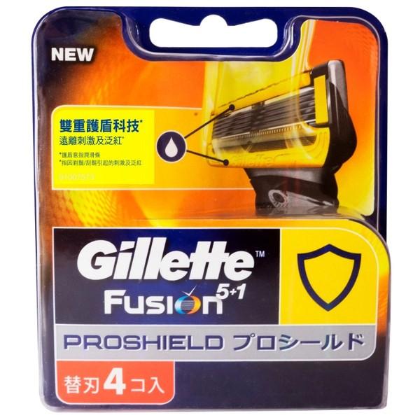 吉列鋒護潤滑系列 4刀片新舊包裝隨機出貨
