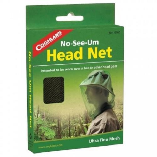 Coghlans #0160 防蚊防蜂罩網 Head Net - No-see-um