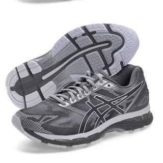 sports shoes 7e086 29b21 壯男的店ASICS亞瑟士男慢跑鞋GEL-NIMBUS 19 (4E) (灰) T702N ...