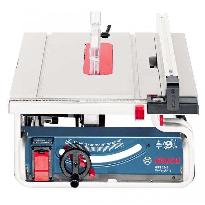 【中台工具】BOSCH 單主機 GTS 10 J 桌上型圓鋸機 10吋木工切斷機(防止木屑飛濺) 博世GTS10J