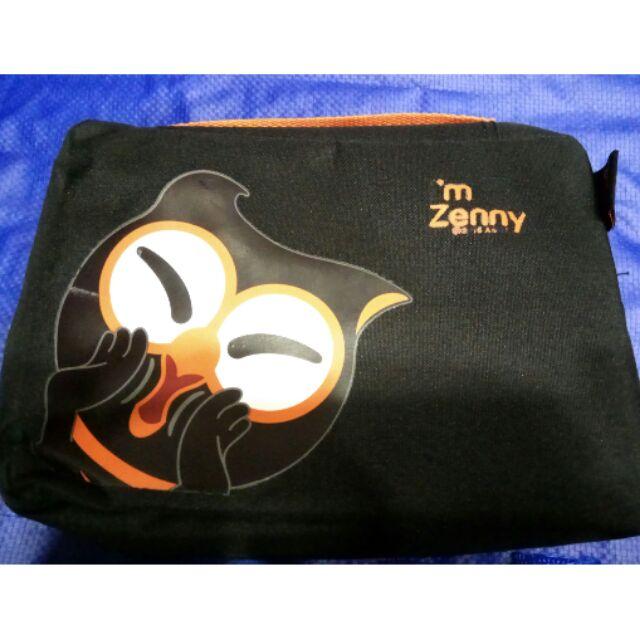 原廠 ASUS Zenny 旅行組 多功能收納 旅行袋 隨身包 眼罩 充氣枕 行李箱束帶
