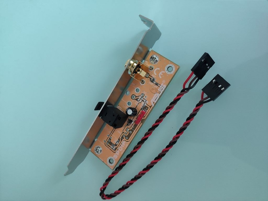真正華碩spdif out子卡光纖同軸擋板DAC解碼DTS電腦聲卡數位輸出