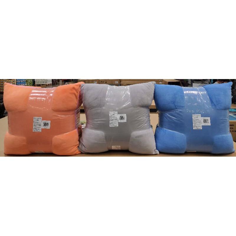 【小如的店】COSTCO好市多代購~SUTTON 雙面素色方型抱枕/靠枕/枕頭(每組2入)布套可拆洗 131072