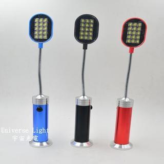 雙電力/  底部強磁鐵 強光 15 LED 蛇燈 工作燈 磁吸 手電筒 彎曲 蛇管燈 軟管燈 18500 認證18650 新北市