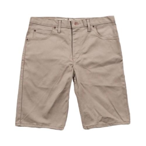 【DICKIES】WR805 膝上合身窄版 工作短褲 (卡其BT) 化學原宿