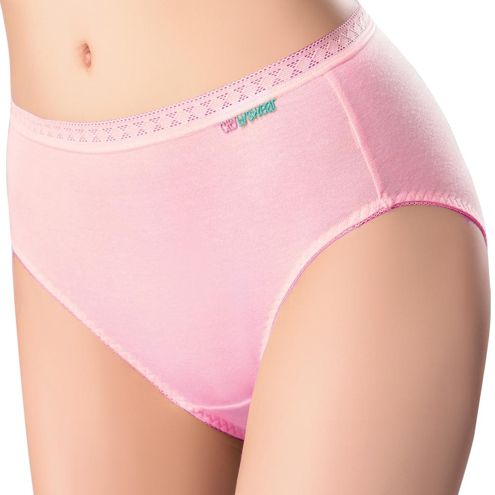 SWEAR 思薇爾 柔感棉系列素面中低腰日用生理褲(嫣紅)