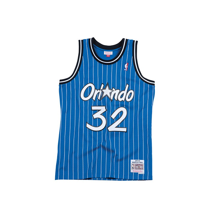 M&N NBA 魔術 SHAQUILLE ONEAL 32 復刻球衣MNSWJG277A【iSport愛運動】
