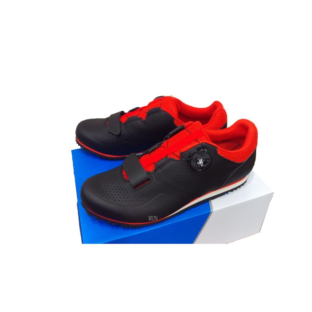 全新 公司貨 2019 新色 GIANT 捷安特 PRIME 自行車專用硬底鞋(Boa旋鈕) 第二代全新到貨 黑紅色