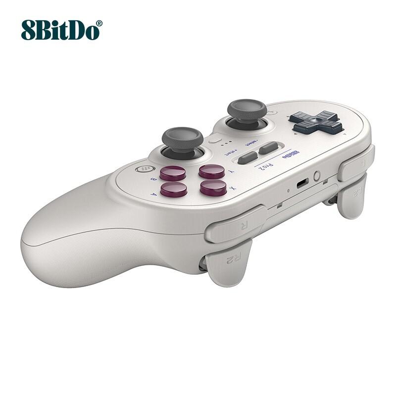 (現貨)八位堂 8BitDo Pro 2 遊戲手柄無線手機精英PC電腦任天堂NS Switch/Lite遊戲機steam